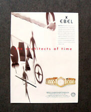[GCG]  N158 - Advertising Pubblicità -1995- EBEL SPORT LINE , ARCHITECTS OF TIME