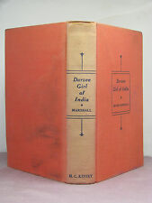1st?, signed by author, Darzee Girl of India by Edison Marshall, hardback, no DJ