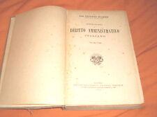 f. d'alessio istituzioni di diritto amministrativo utet 1932 volume 1°