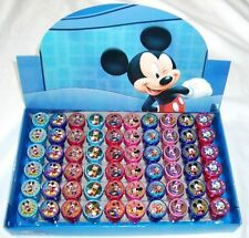 60 pcs Disney Mickey Minnie Groofy Self Inking Stamper Pencil Topper Party Gift