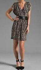 AKIKO Silk Dress Tribal Retail $211 Small