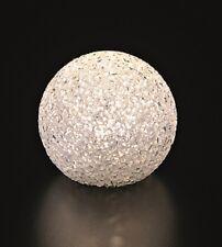 tolle Leuchtkugel weiß Ø 8 12 15 20 Cm LED Kugel Batterie betrieben Dekoration