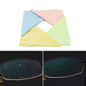 Cleaner Glasses Lens Cloth Wipes For Sunglasses Microfiber Cleaning Cloth Clean