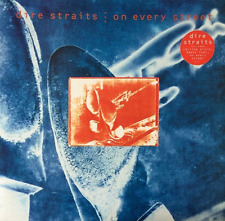 DIRE STRAITS - On Every Street (LP) (G-VG/EX)