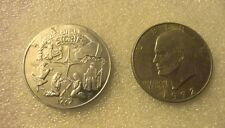 Commerative large/dollar size /Biblical aluminum /Token / Adam,Moses, more!