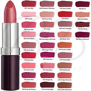 RIMMEL London Lasting Finish Lipstick, Smooth + Creamy, 4g *CHOOSE YOUR SHADE*