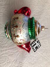Polonaise ornament teapot Mary Engelbreit Me by Kurt S. Adler