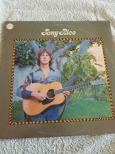 TONY RICE VERY  RARE USA 1ST PRESSING VINYL ALBUM 1976 ROUNDER RECORDS
