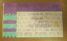 1995 FOO FIGHTERS MIKE WATT EDDIE VEDDER CONCERT TICKET STUB DAVE GROHL NIRVANA