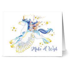 24 Note Cards - Wishing on a Star Pegasus - Kraft Envs