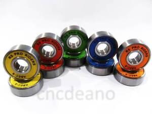 608 RS ABEC 9 WHEEL BEARINGS FOR SKATEBOARD SCOOTER QUAD INLINE ROLLER SKATE