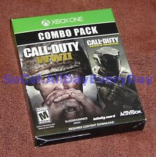 Call of Duty WW2 + Infinite Warfare COMBO Pack BOTH GAMES! (Xbox 1 One) wwii xb1