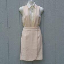 Aijek Women's  Dress Size 2 Sublime Convertible Bib Sleeveless Wrap Career