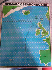 1978 AVALON HILL BISMARCK REPLACEMENT SEARCH BOARD