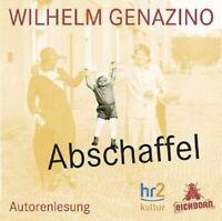 WILHELM GENAZINO - ABSCHAFFEL  CD NEU