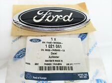 FORD FOCUS (1998-2004) REAR OVAL EMBLEM BLUE/CHROME EFFECT GENUINE NEW 1021061
