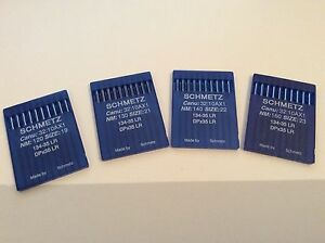 Schmetz 134-35LR, DPx35LR Leather Industrial Needles for Pfaff & Adler X 10
