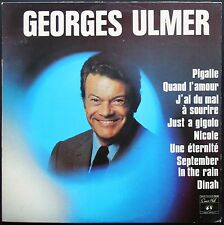 GEORGES ULMER JUST A GIGOLO / DINAH RARE 33T LP BIEM CONCERT HALL NEUF / MINT