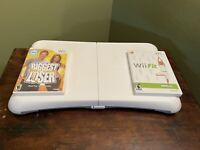 Nintendo Wii Fit Balance Board Bundle Wii Fit Game And The Biggest Loser Game !!