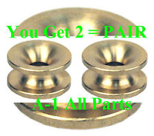 Trimmer Head  2 EYELETS -- BRASS -- BEST QUALITY - Longest Lasting - MADE IN USA