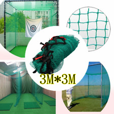 Heavy Duty Golf Practice Hitting Net Nylon Impact Netting Barrier Ending Border
