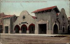 San Bernardino Amerika USA Kalifornien AK ~1910 Southern Pacific Station Bahnhof