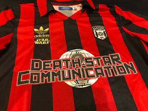 Adidas Originals X Star Wars Football/ Soccer Jersey Darth Vader #77 SZ M Small