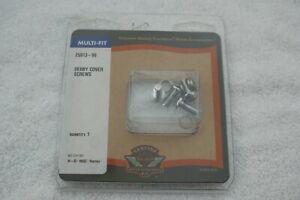 NOS OEM Harley-Davidson Chrome Derby Cover Screws 25913-99