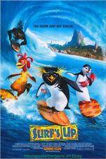 Surf'S Up Movie Poster Original 27x40 Ds Final 2007 Surfing Animation Flick