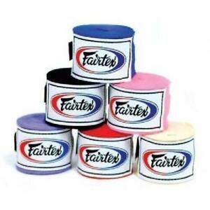 Fairtex Elastic Cotton Handwraps - HW2 - 4.5 Meters Long/180 Inches Long