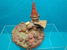 """Tom Clark Gnome """"Henson"""" Reading a Book to Frog Prince Kermit 1984 EditionCoa"""