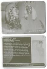 Space 1999 Printing Plates Pair of used for Base Card 08 Vana and Raan