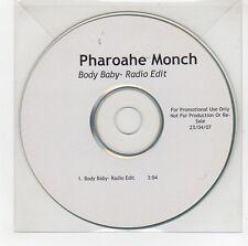 (GG661) Pharoahe Monch, Body Baby - 2007 DJ CD