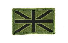 Toppe Patch toppa ricamate termoadesiva bandiere reigno unito UK camo softair