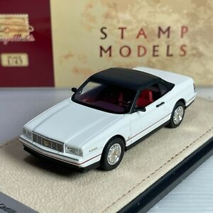 1/43 GLM Stamp Model Cadillac Allante 1993 Closed Top White STM93802