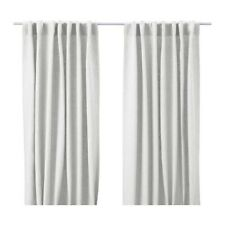 "AINA Curtains, 1 pair, white, 57x98 "" New Ikea"