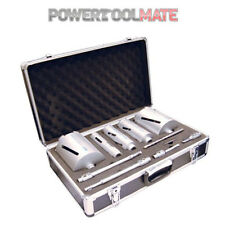 Mexco dcx90 11 Pezzo Dry Diamond Core Drill Kit-Ideale per DEWALT o MAKITA