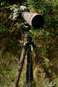 Tripod upper leg covers made to measure Standard and Premium rubber backed