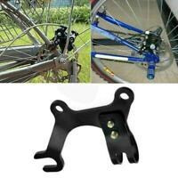 Adjustable Bicycle Bike Disc Brake Bracket Frame Adaptor Mounting Holder LIN