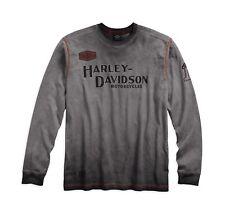 Harley-Davidson Men's Iron Block Long Sleeve Tee Gr. XL Herren T-Shirt Sweater
