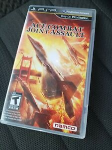 Ace Combat: Joint Assault (Sony PSP,  Playstation Portable, 2010) Complete CIB