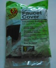 """NEW DUCK Insulated Soft Flexible Faucet Cover For Freeze Protection 7.5 By 8.75"""""""