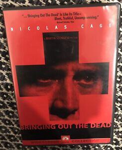 BRINGING OUT THE DEAD -Region 1 DVD - Martin Scorsese - Paul Schrader