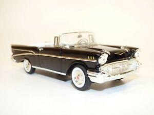 CHEVROLET BEL AIR cabriolet noir 1957 1/32