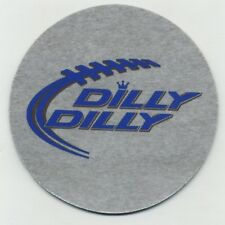 Budweiser Beer COASTER - Bud Light Bier -  Dilly Dilly Football