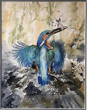 Ria Winters  Original Watercolor Netherlands Artist Art