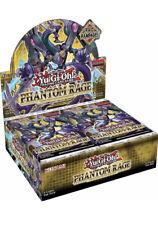 Phantom Rage Booster Box English 1st Edition YuGiOh TCG NEW SEALED SHIPS 11/6!:)