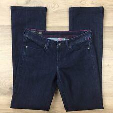 Buffalo David Bitton Women's Jeans Roxie Tulip Mid Rise Size 25 Actual W28 (AZ8)