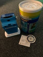 Vintage Gaf Talking Viewmaster With Original Preview Reel And Tub