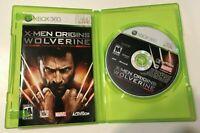 X-Men Origins: Wolverine Uncaged Edition Microsoft Xbox 360 Complete CIB Games